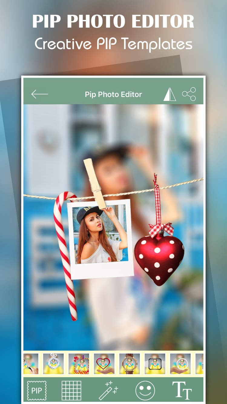 Pip Photo Editor with Stickers
