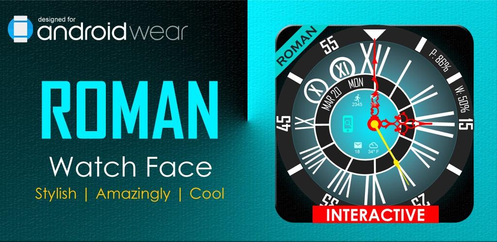 Roman Watch Face