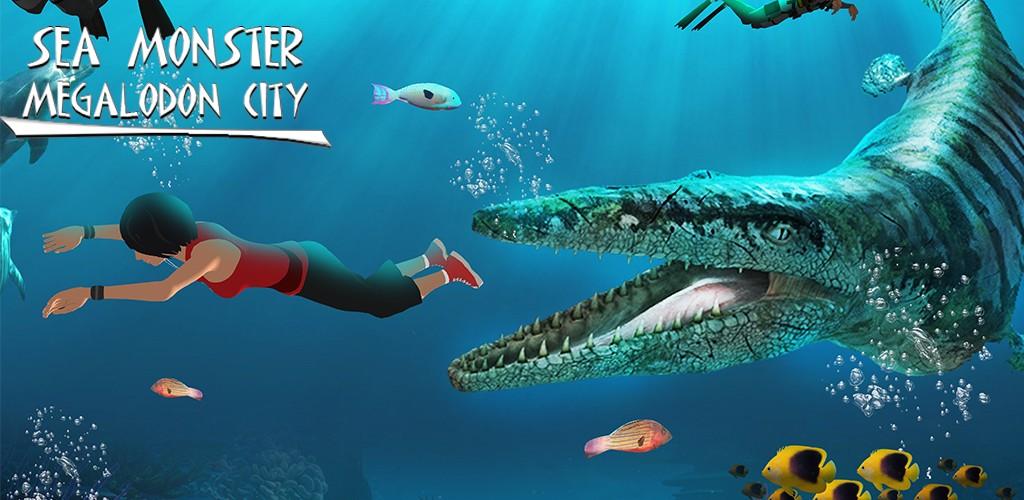Sea Monster Megalodon City
