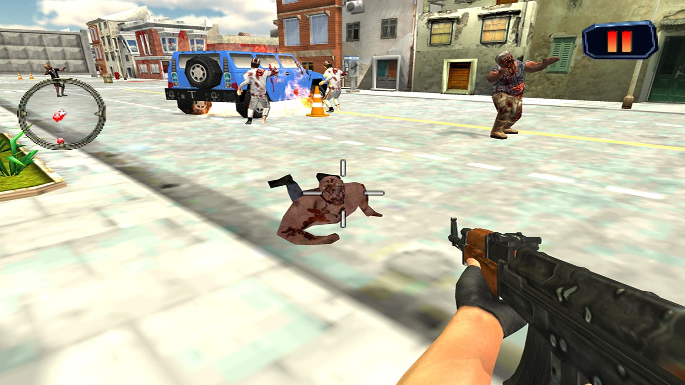 Target Zombie Shoot to Kill