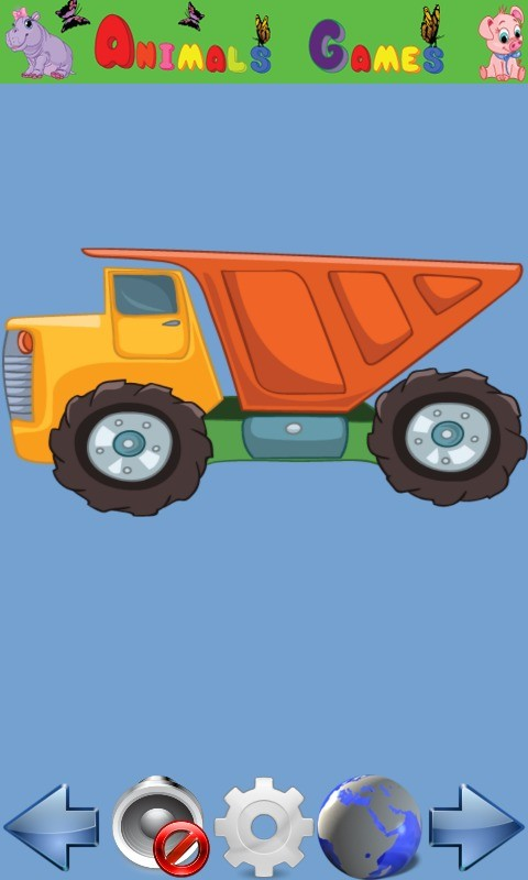 Vehicle Games for kids