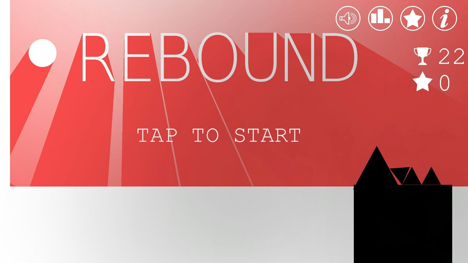 Absurd Rebound - Most impossible game