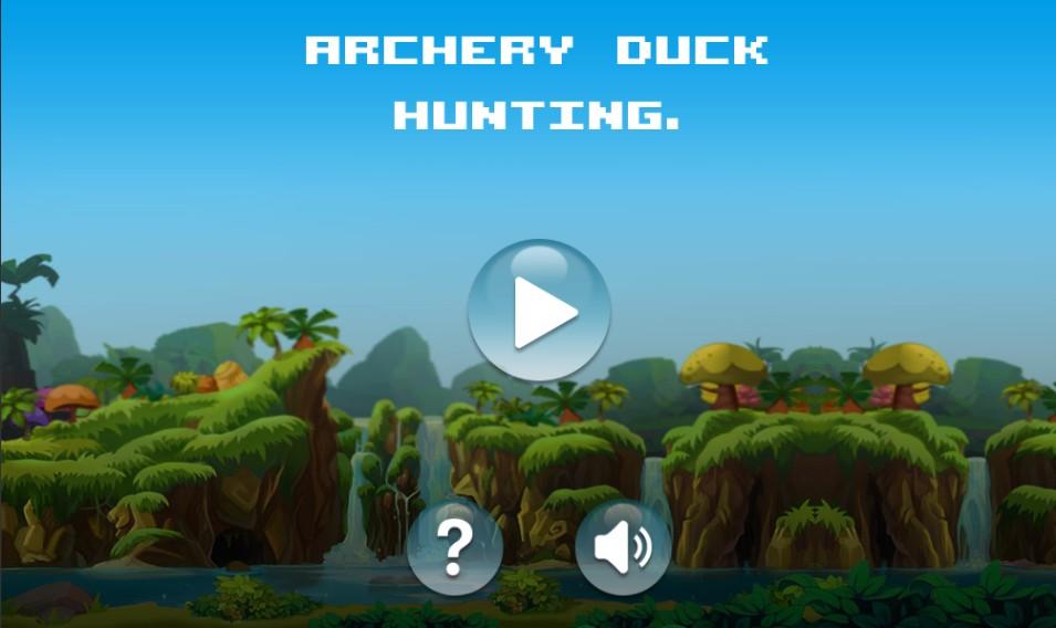 Archery Duck Hunting