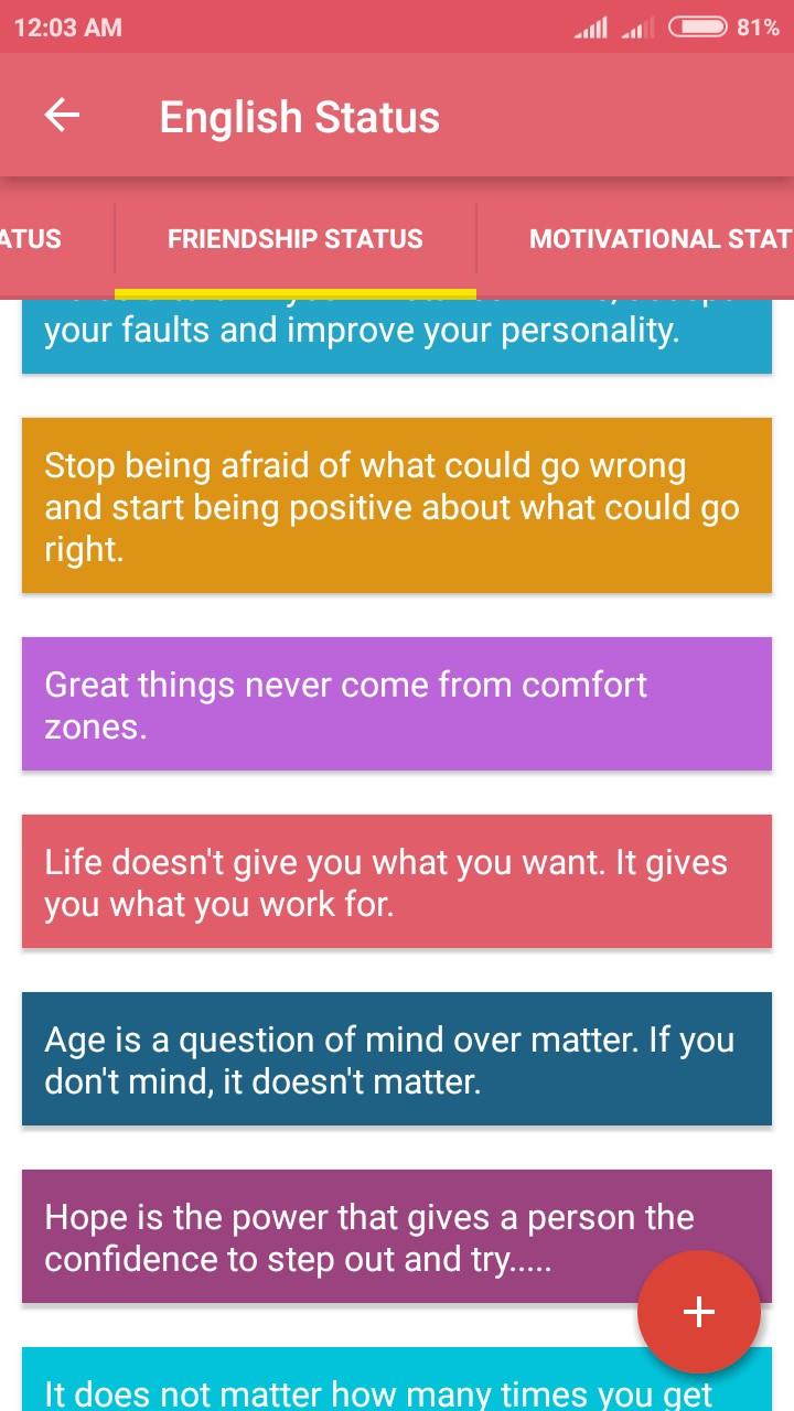 Best Whats App Status - Quotes