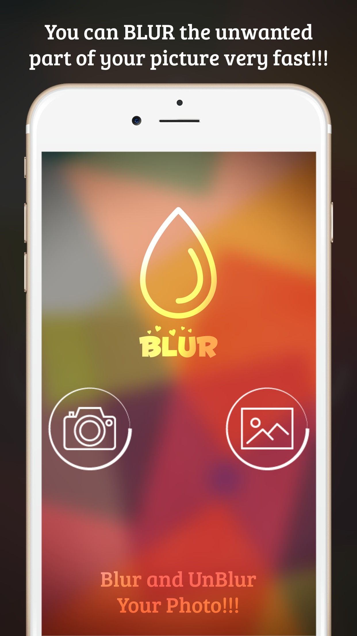 Blur Image Background - Blur Photo Effect