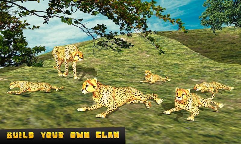 Cheetah Attack Sim