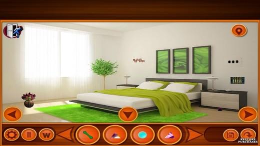 Elegant Green House Escape