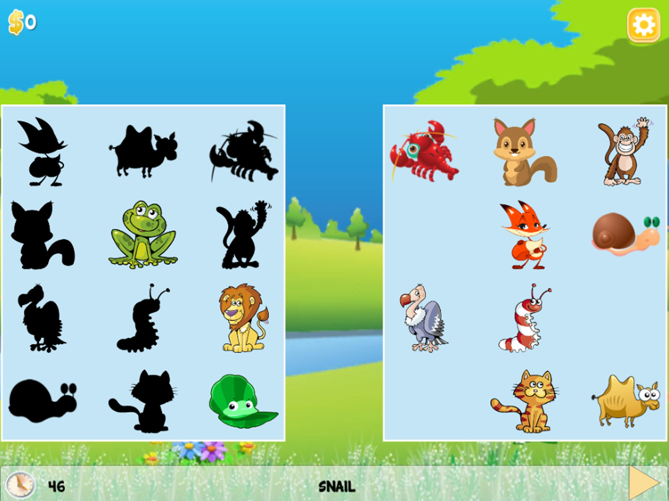 English Animals Play & Learn