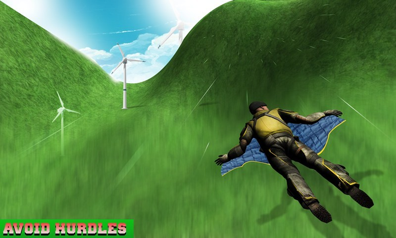 Flying WingSuit Simulator