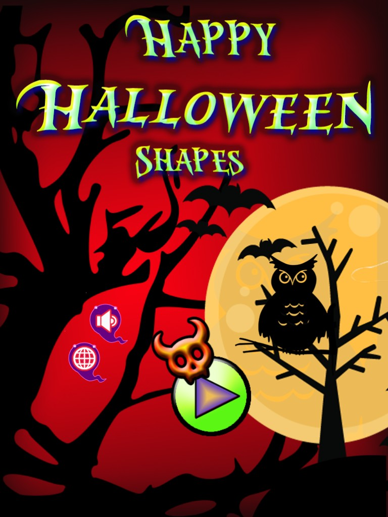 Happy Halloween Shapes