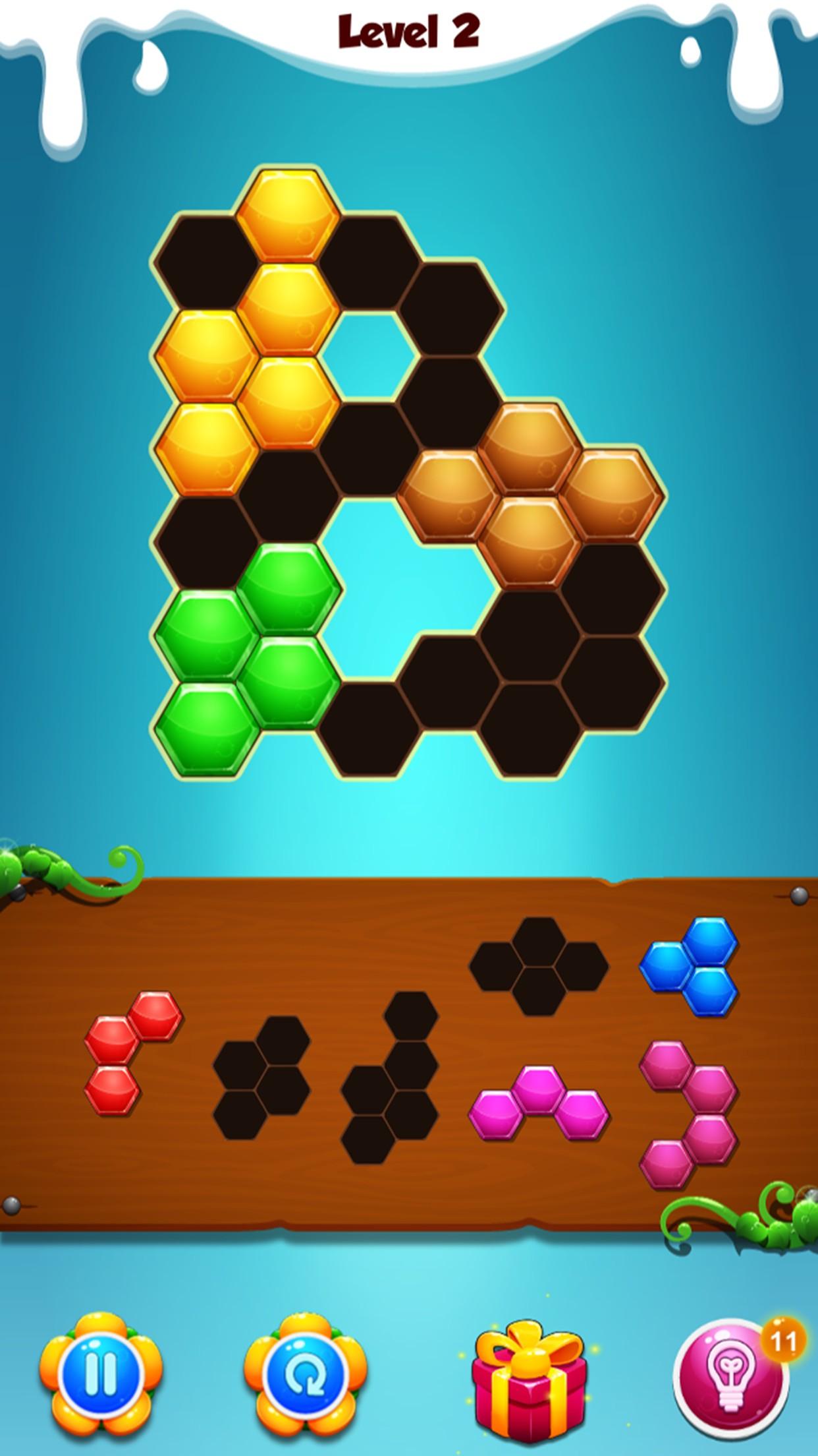 Hexic Puzzle