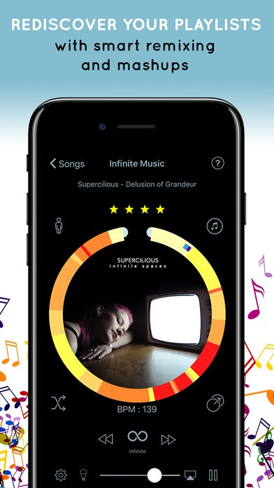 Infinite Music - Rediscover your media library