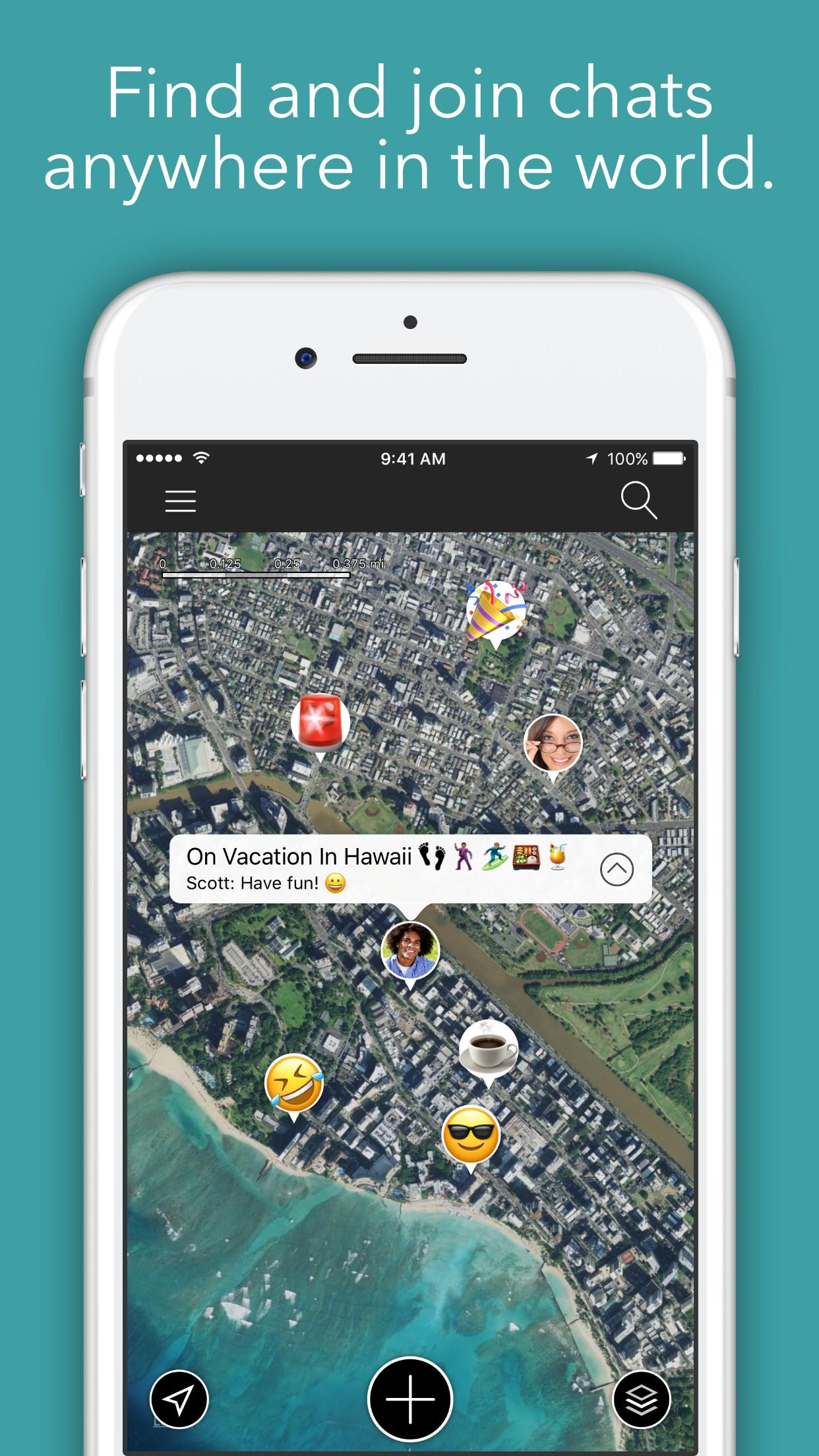 LOC - Location-based chat