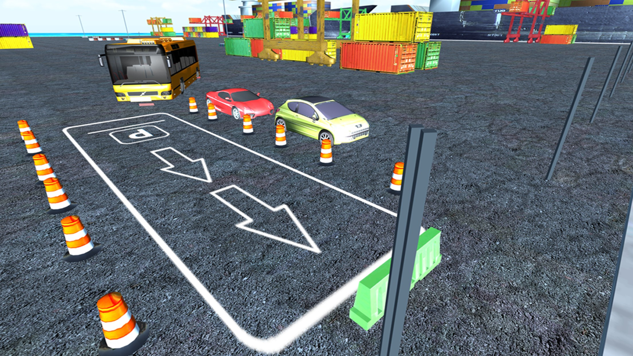 Omnibus Parking simulation