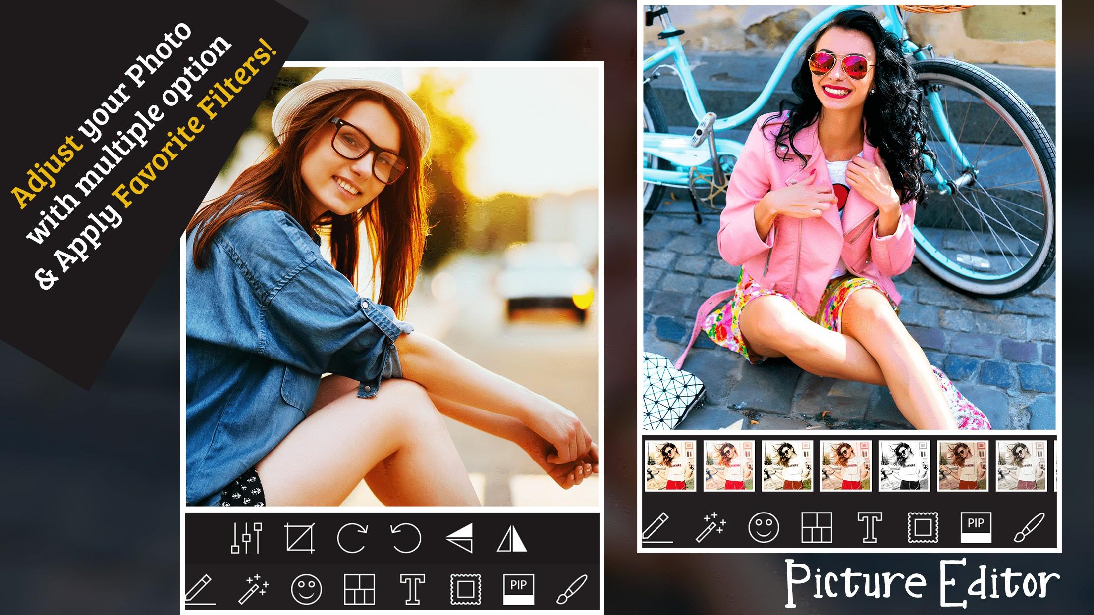 Pic Editor - Blur Collage Maker