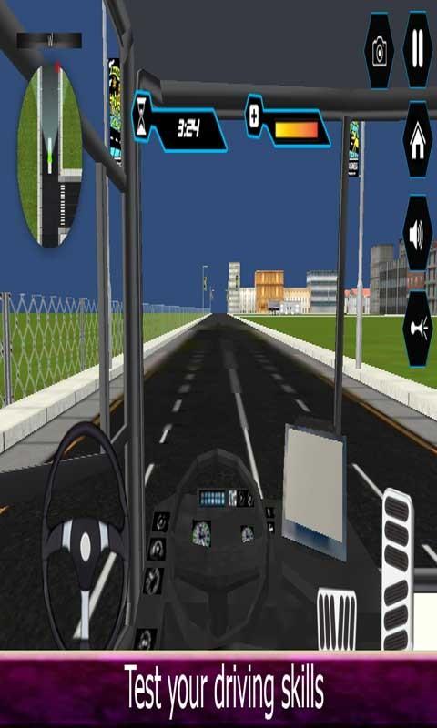 Robot Passengers City Bus
