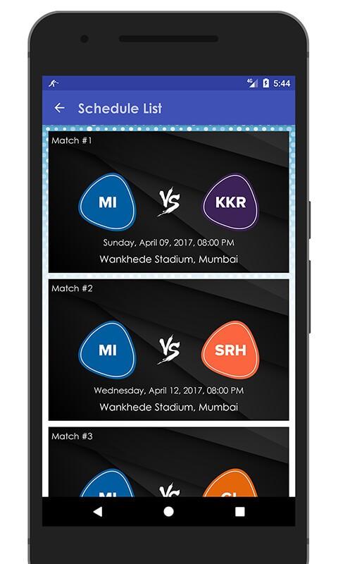 Schedule & Info of MI Team