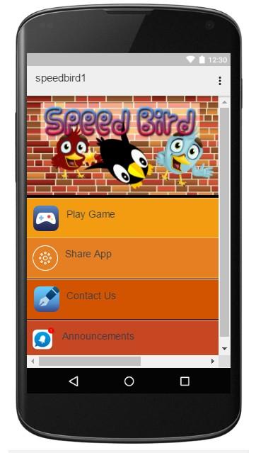 Speed Bird 1