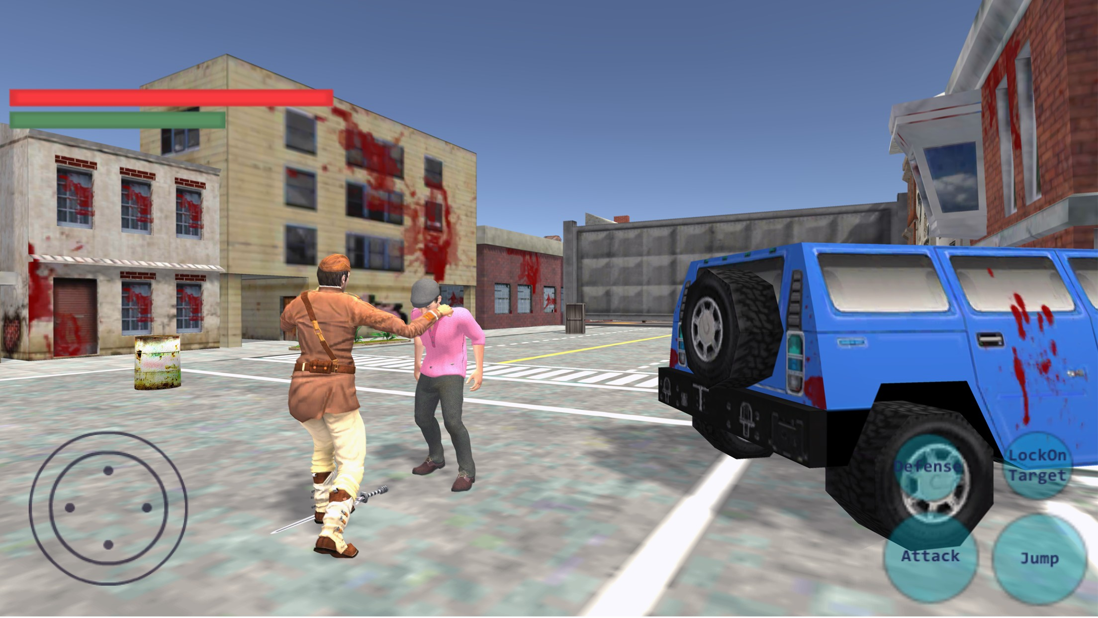 Survival Real Street Fight
