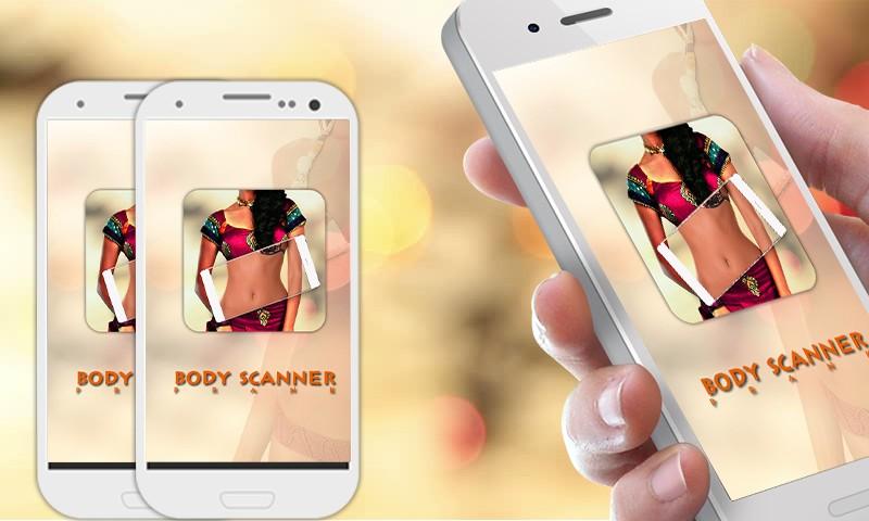 Body Scanner Prank real camera
