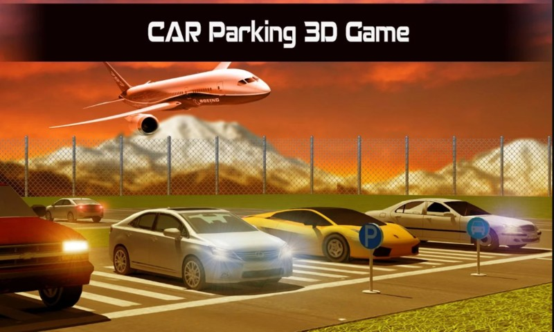 City Car Parking Simulation 3D