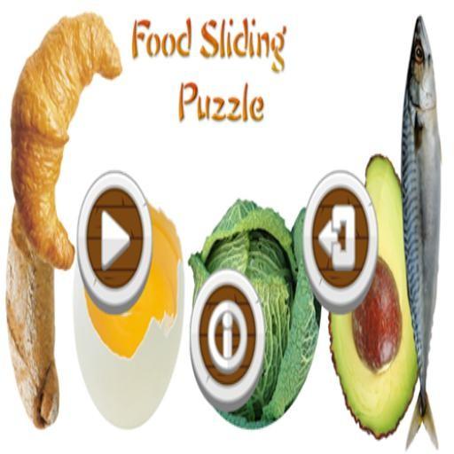 Food Sliding Puzzle