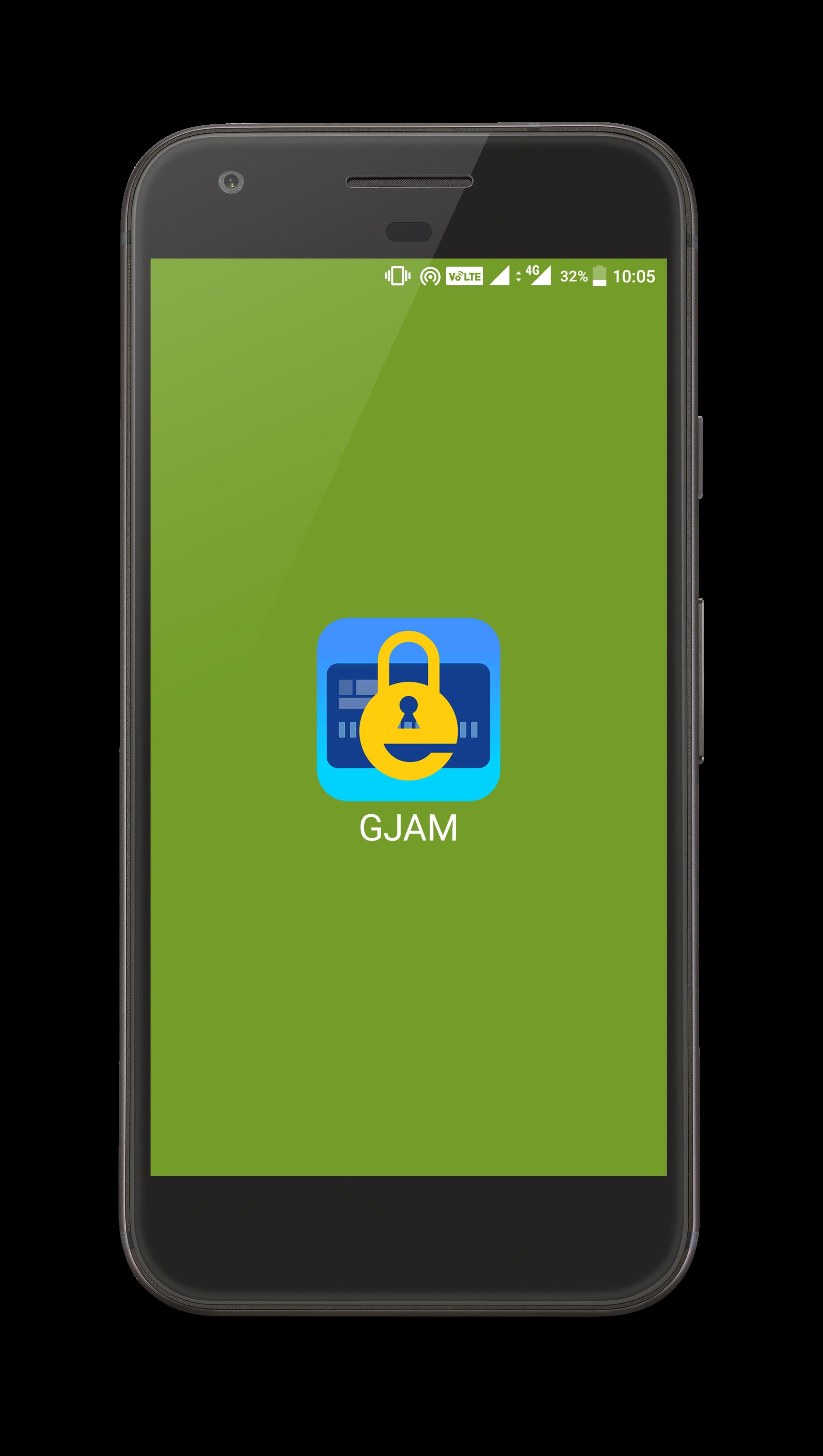GJAM-Password Manager