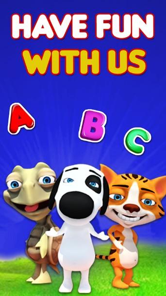 Preschool Kids ABC 3D Learning