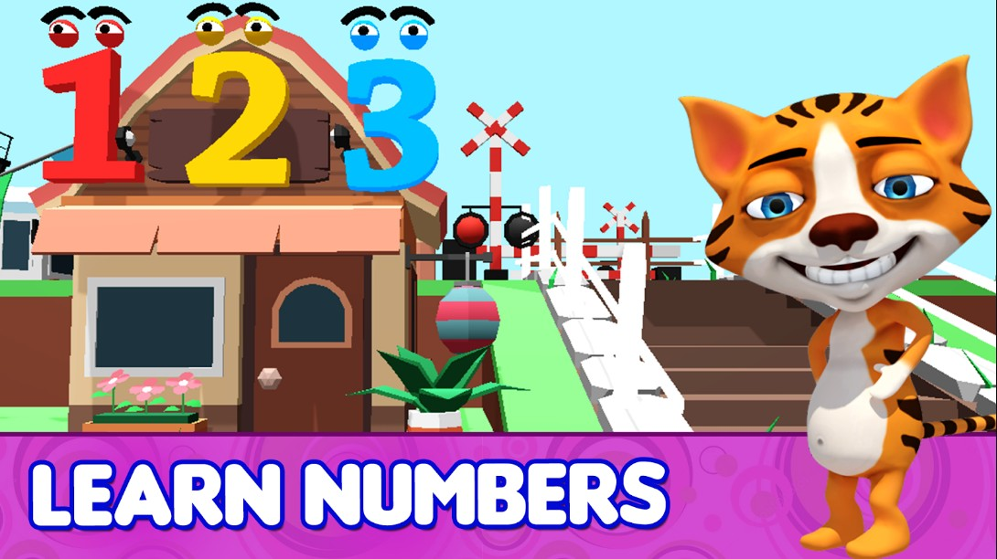 Preschool Kids ABC 3D Learning