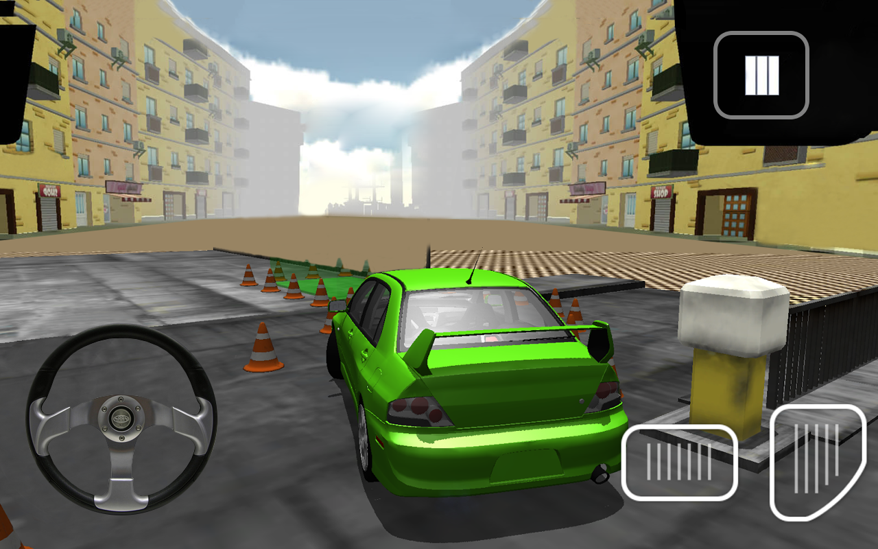 Real Speed Car Parking Simulator Crazy Parking