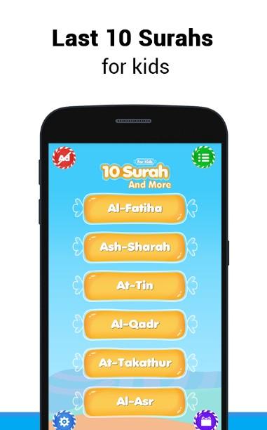 10 Surahs For Kids