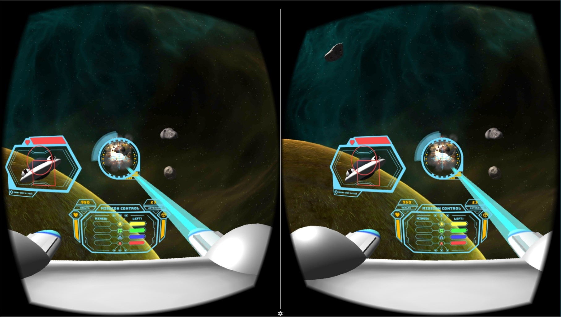 Asteroid Shooter VR
