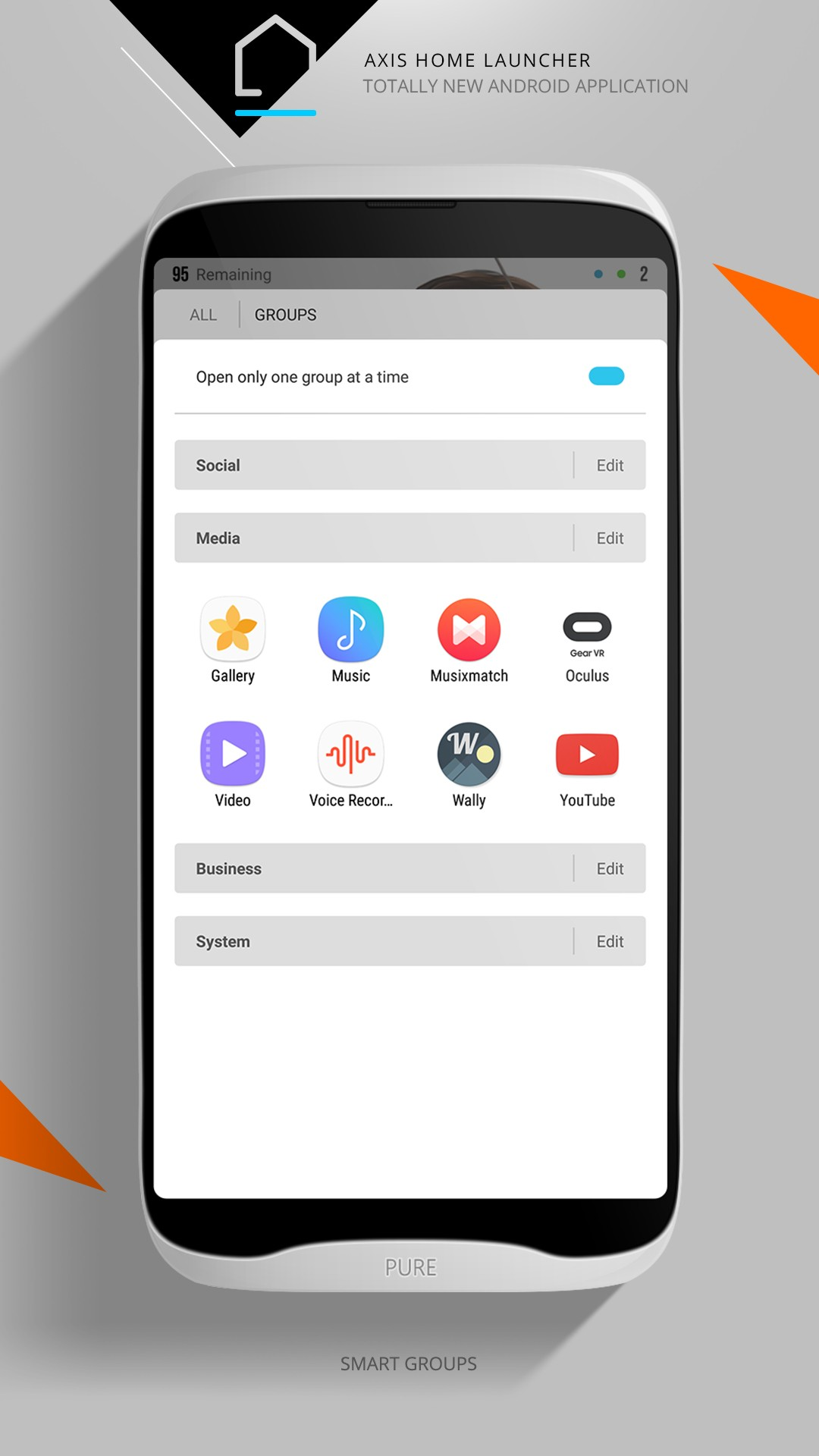 Axis Home Launcher