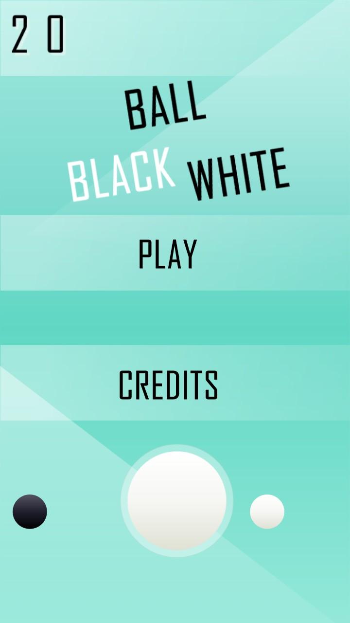Ball Black White