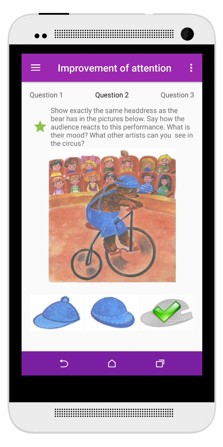 Child Tests - Knowledge game for kids
