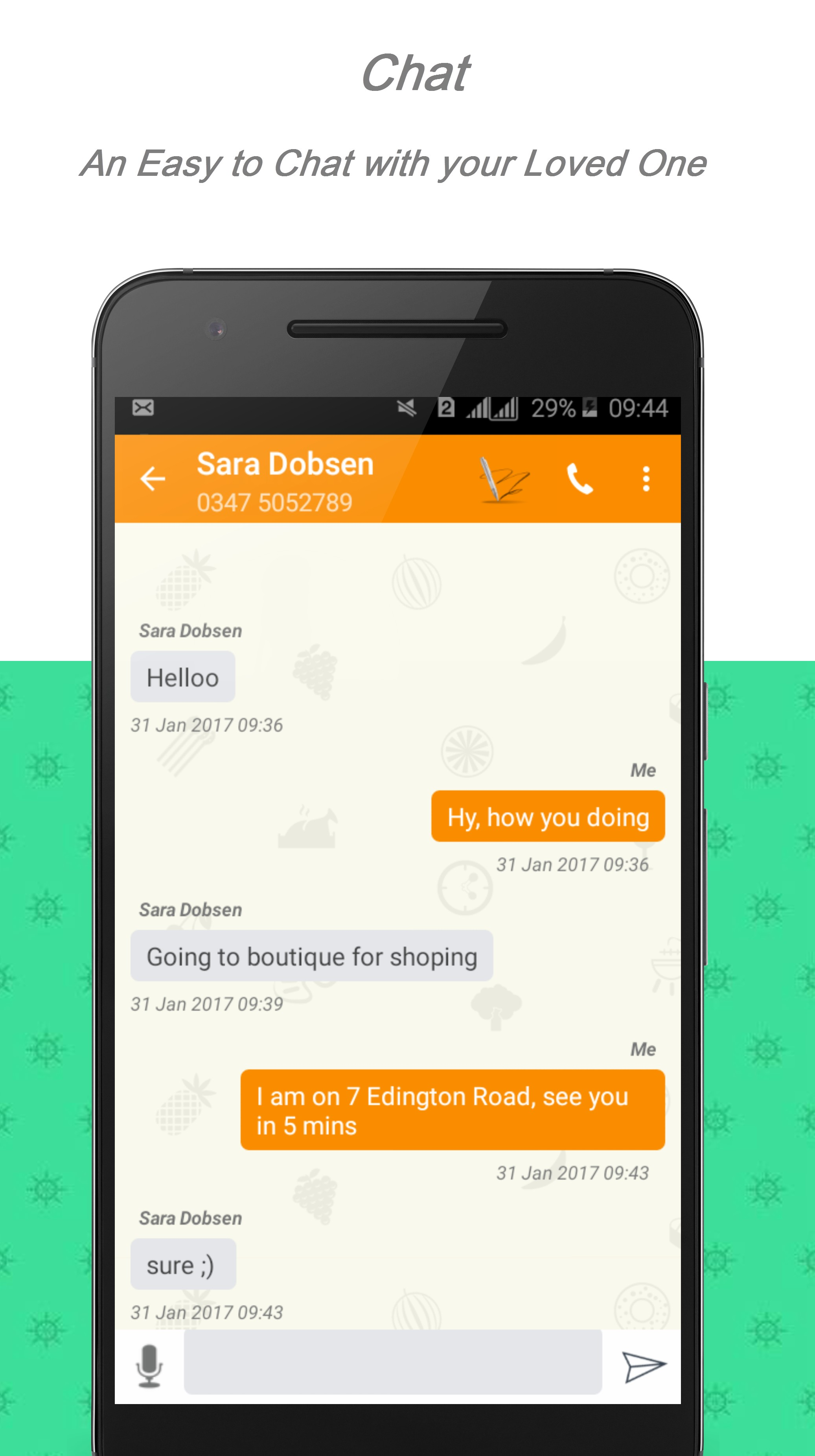 Contact Log (Call & SMS Log)