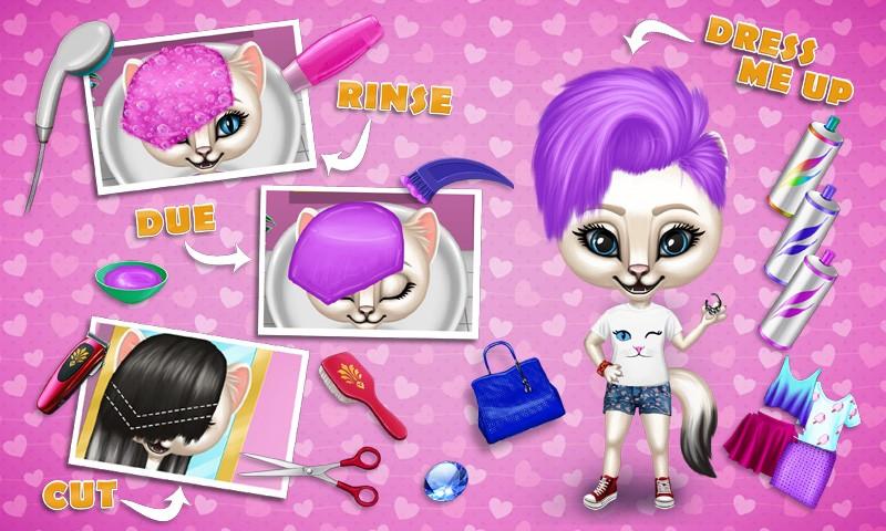 Fashion Animals - Hair Salon, Makeup & Dress Up