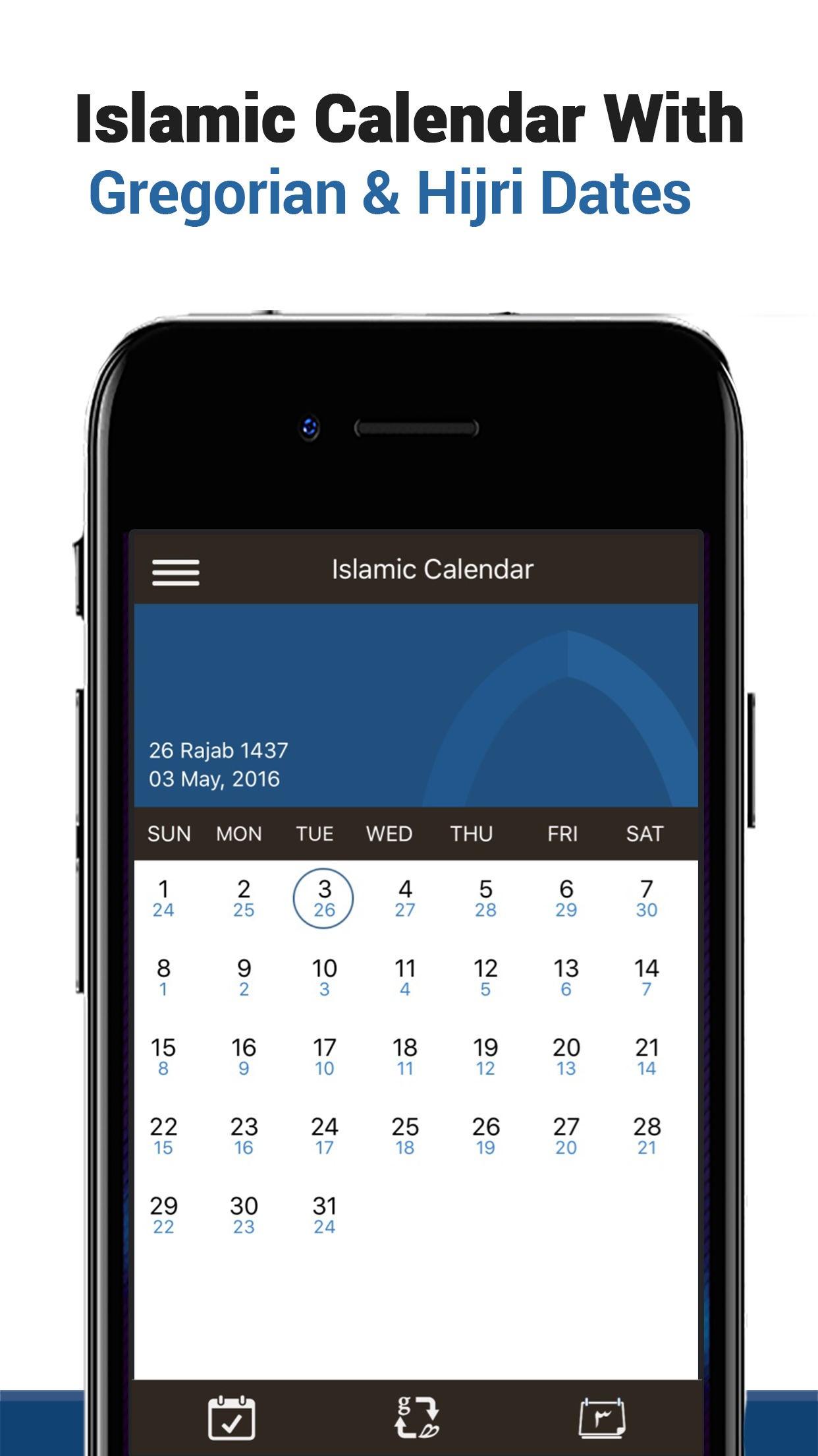 Islamic Calendar - Hijri Calendar, Islamic Events