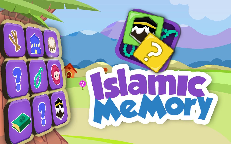 Islamic Memory Game for Kids