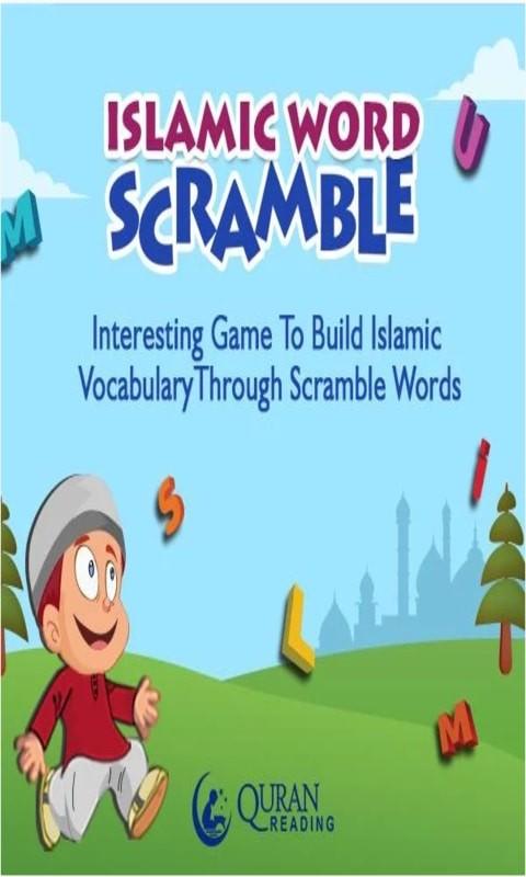 Islamic Word Scramble for Kids