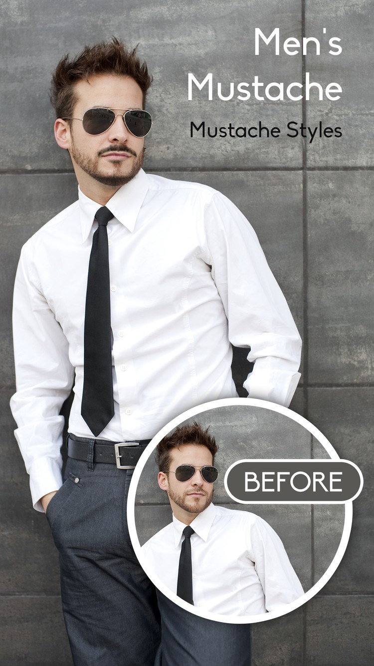 Man Hair, Mustache and Beard Style