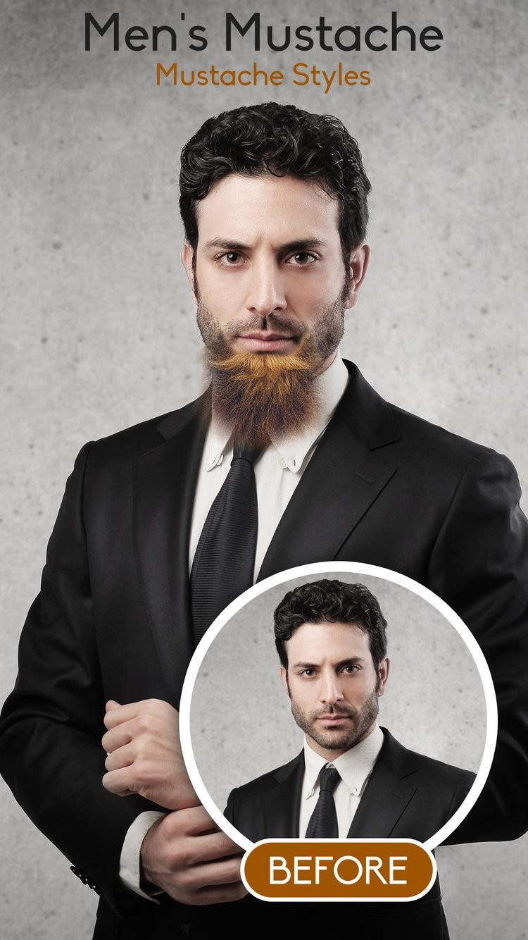 Man Hair, Mustache and Beard Style
