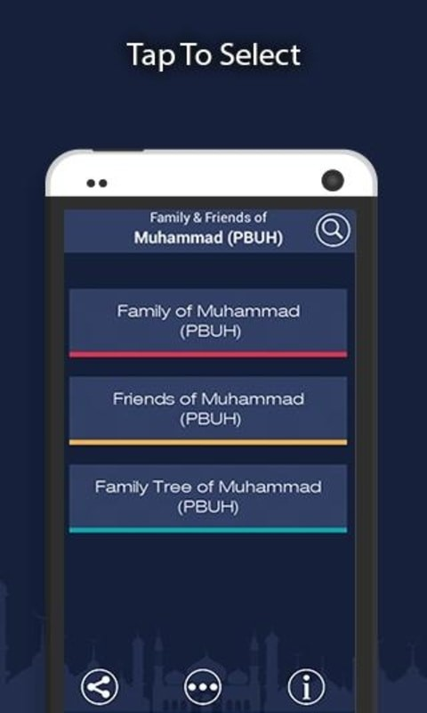 Muhammad PBUH Friends & Family