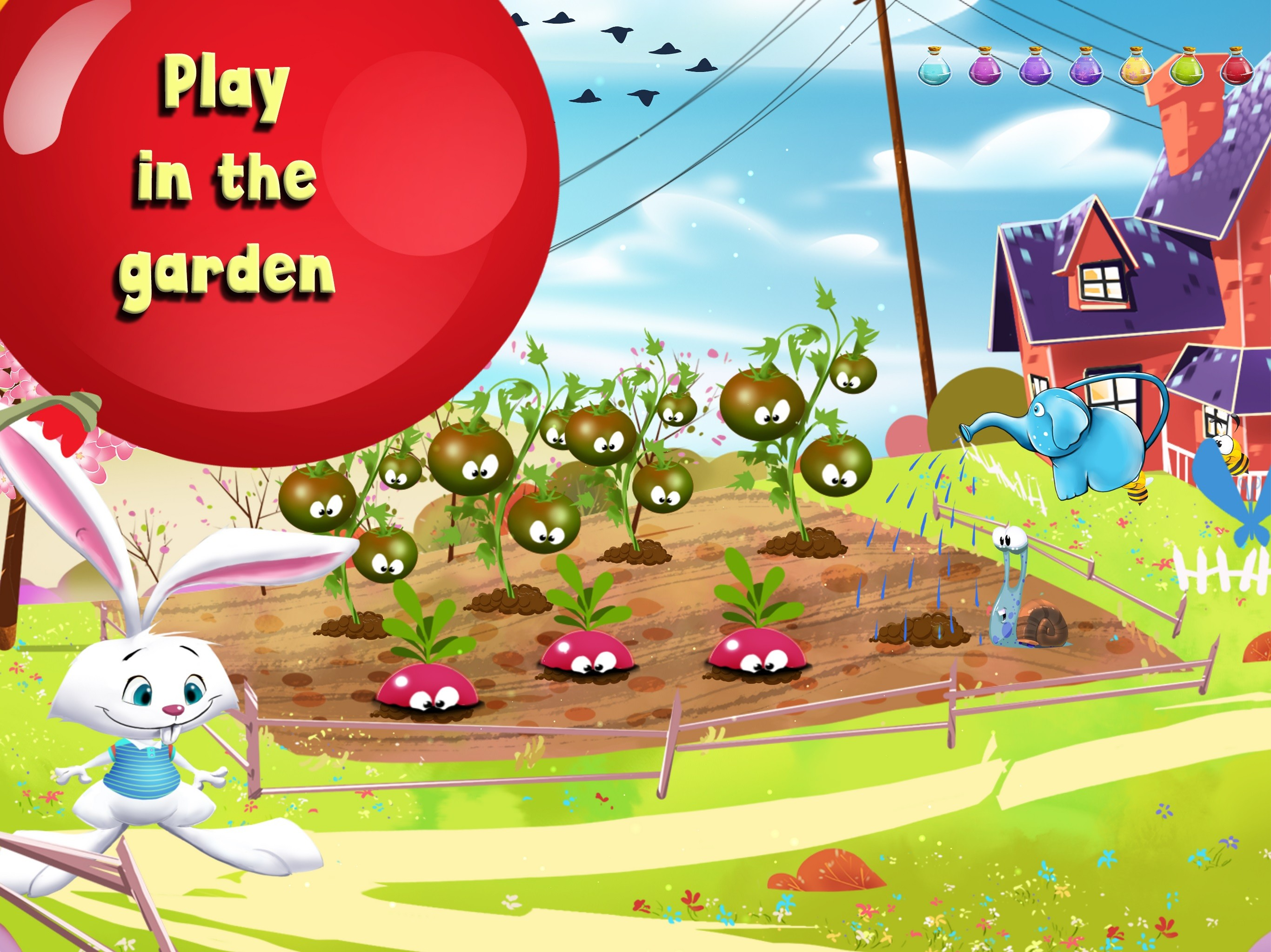 Preschool Learning Games for kids - Hello Spring