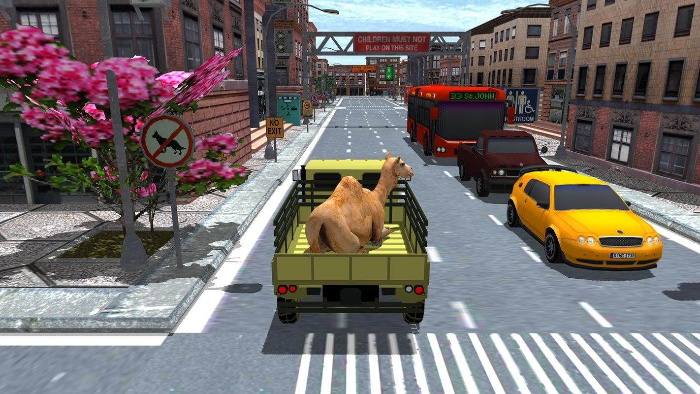 Qurbani Animal Truck Transport Driving