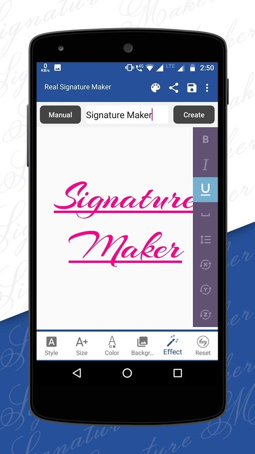 Signature Maker : Name Art