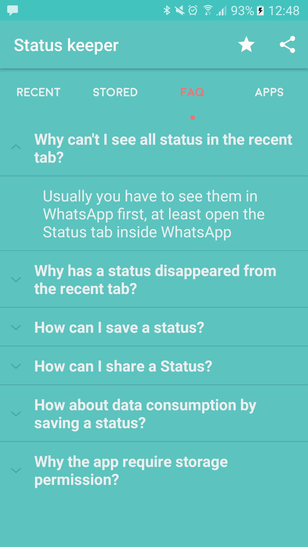 Status Keeper for WhatsApp