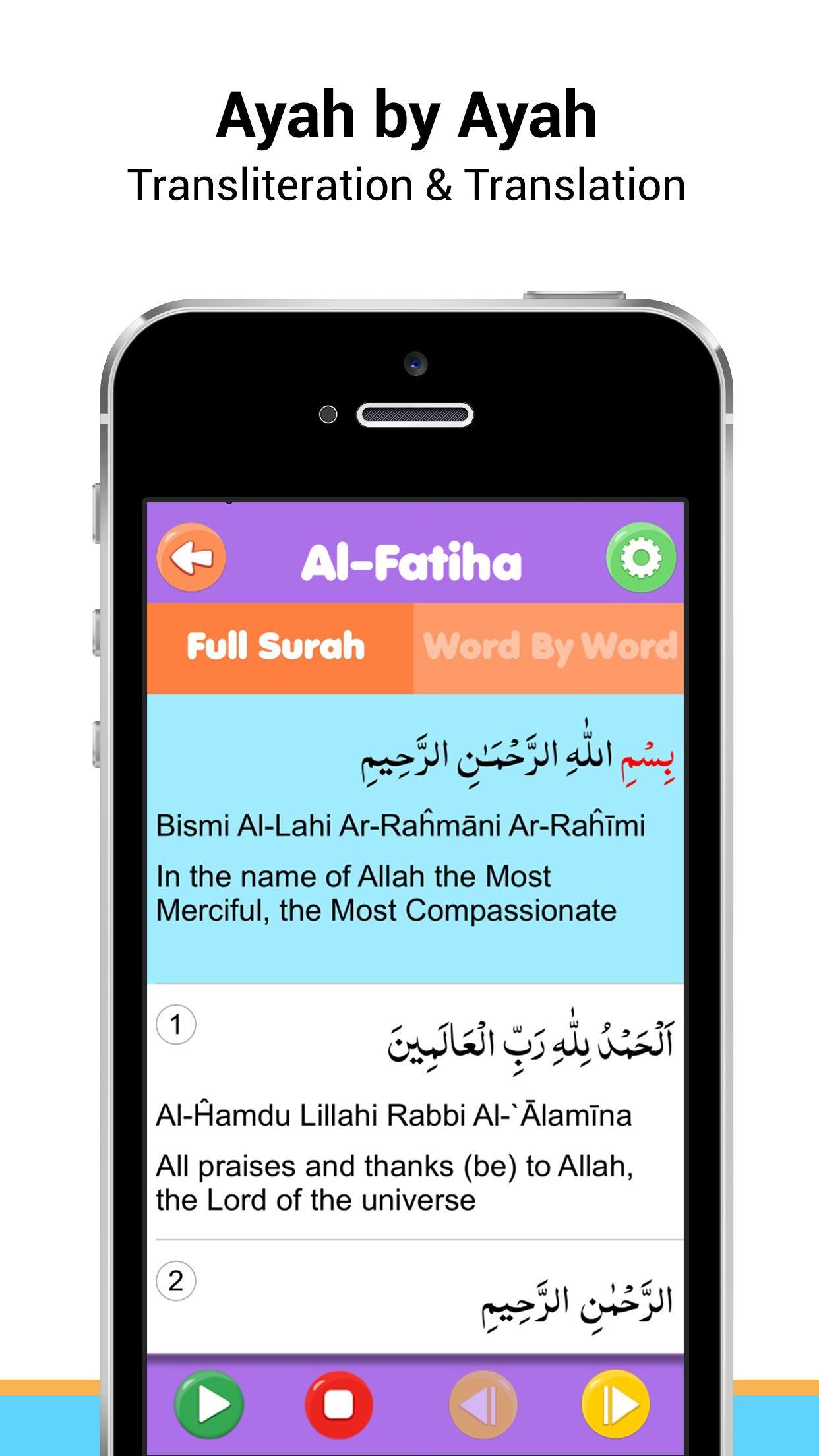Surah Al-fatiha Mp3 & More Surahs