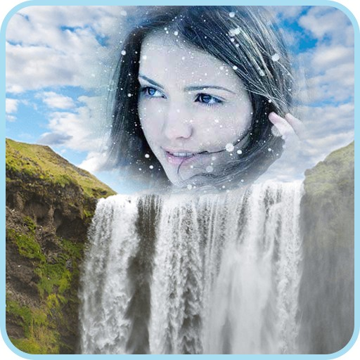Waterfall Photo Frame 2017