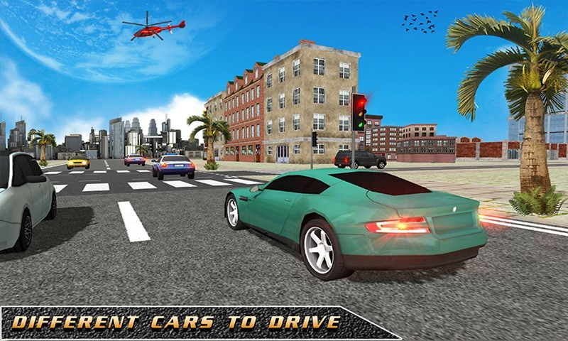 3D School Driving Simulator
